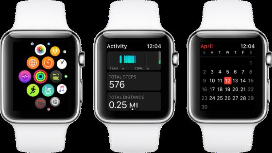 Apple Watch - appar