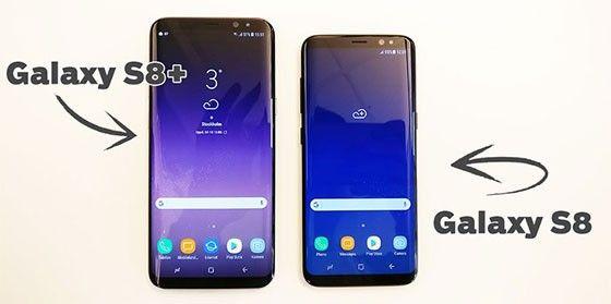 Samsung Galaxy S8 och S8 Plus