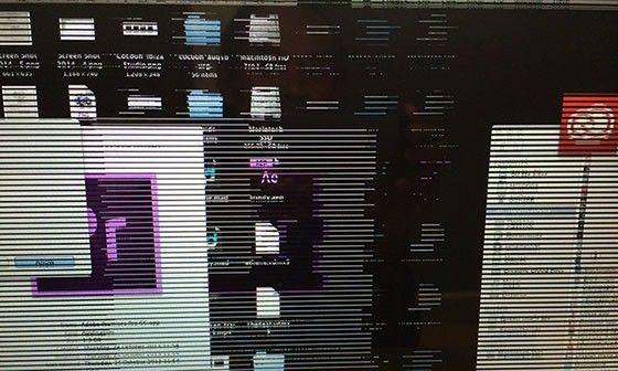 Grafikproblem i Macbook Pro 2011