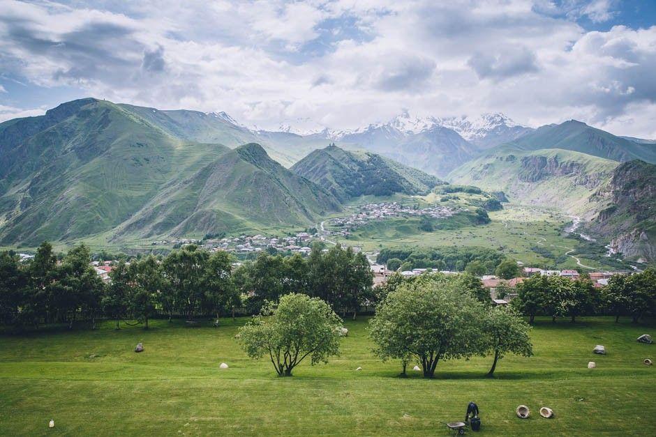 Georgiskt landskap
