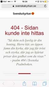 Svenska kyrkan har lagt in bibelcitat på oväntade ställen.