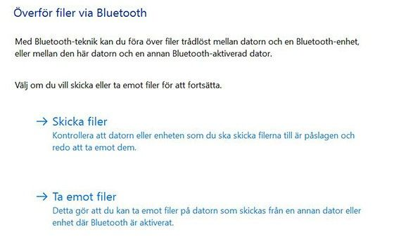 Det är lätt att föra över bilder till datorn – via bluetooth.