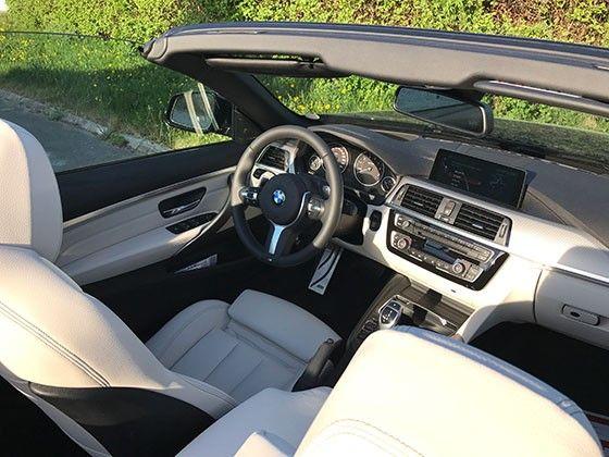 BMW 440i cab