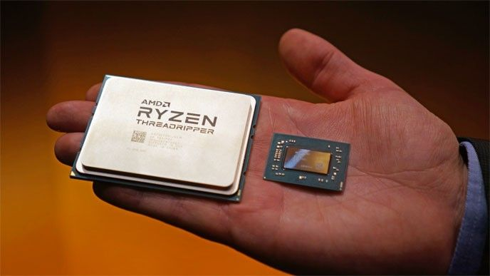 AMD:s Ryzen Threadripper.