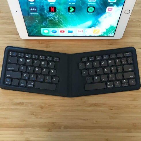 Test  Kanex Multisync Travel Keyboard - unikt mini-tangentbord - MacWorld 2cae272bc7df9
