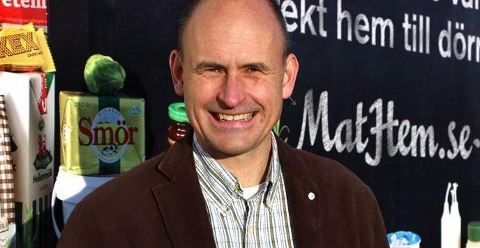 Tomas Kull är grundare och vd på Mathem