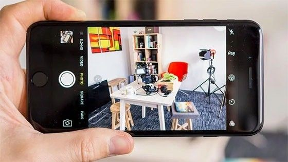 Kameraappen i IOS 11