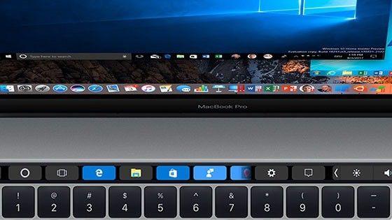 Stöd för Touch Bar i Parallels Desktop 13