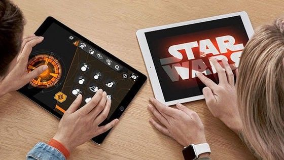 Star Wars-event i Apple-butiker