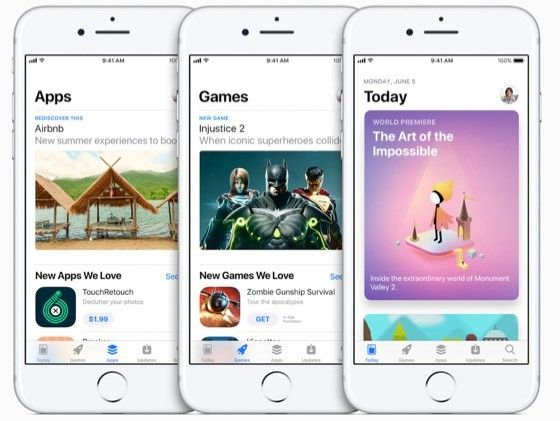 App Store i IOS 11