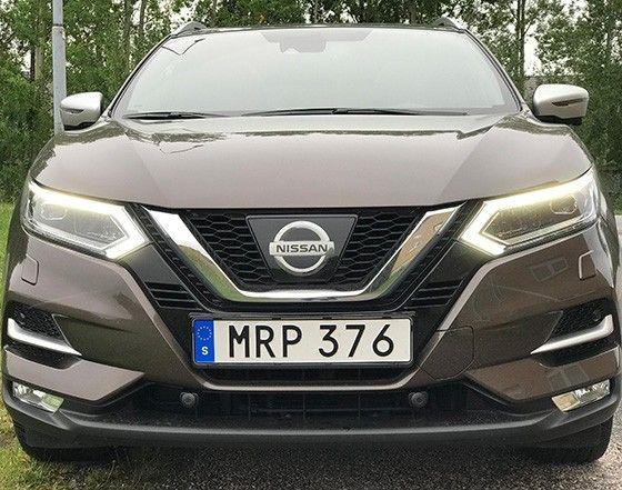 Nissan Qashqai test