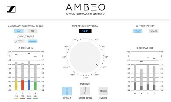 Sennheiser Ambeo VR