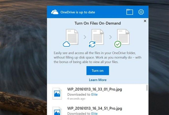 Onedrive on Demand