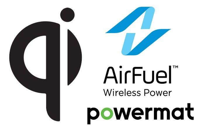 Trådlös laddning Qi AirFuel Alliance