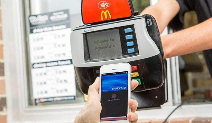 Mcdonalds Apple Pay