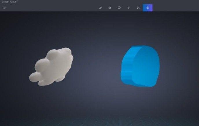 Windows Paint 3D Doodle