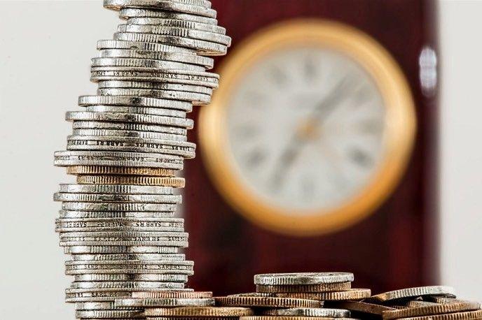 Mynt och klocka