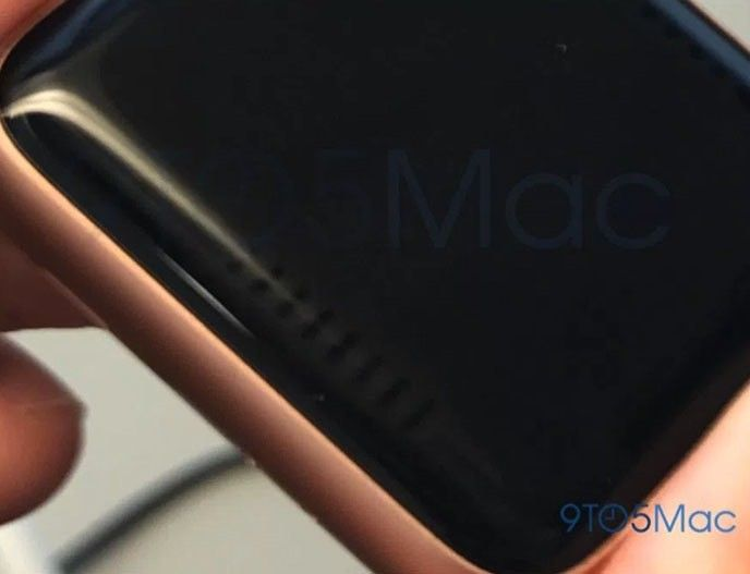Randig skärm på Apple Watch