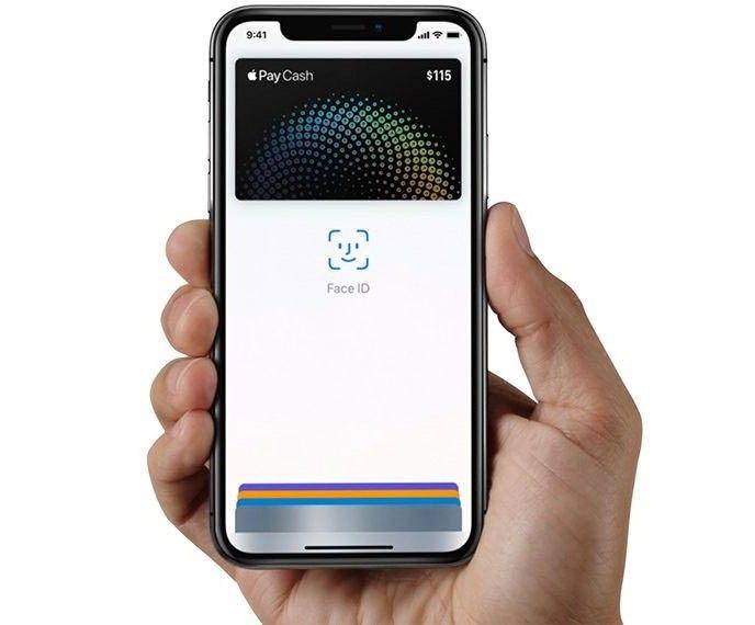 Apple Pay påIphone X