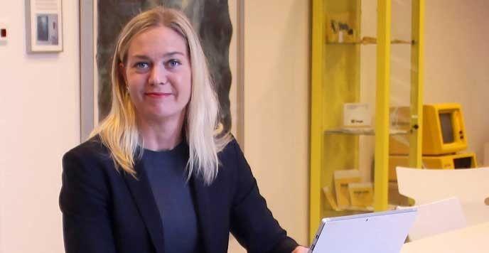 Anna Elverheim som är Hogias expert