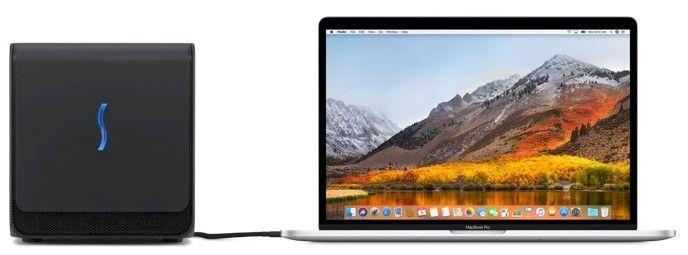 Egpu-stöd i Mac OS