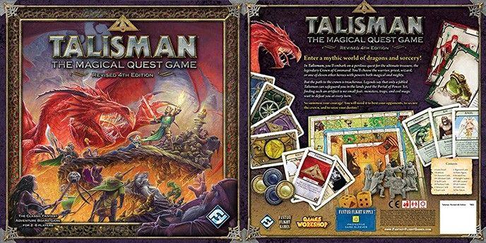 Talisman brädspel sällskapsspel