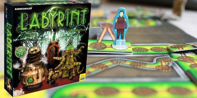 Brädspel barn sällskapsspel Labyrint