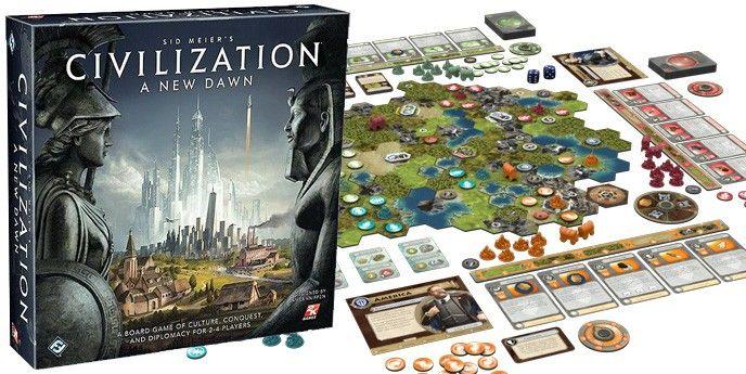 Brädspel Civilization a new dawn