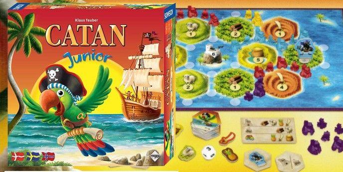 Brädspel för barn Catan Junior
