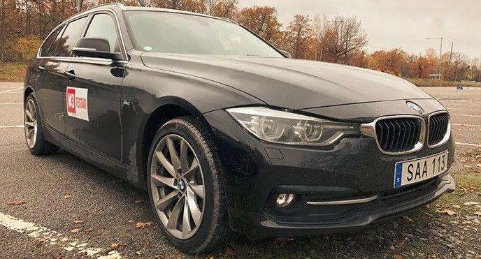 Tjänstebil BMW 7,5 basbelopp