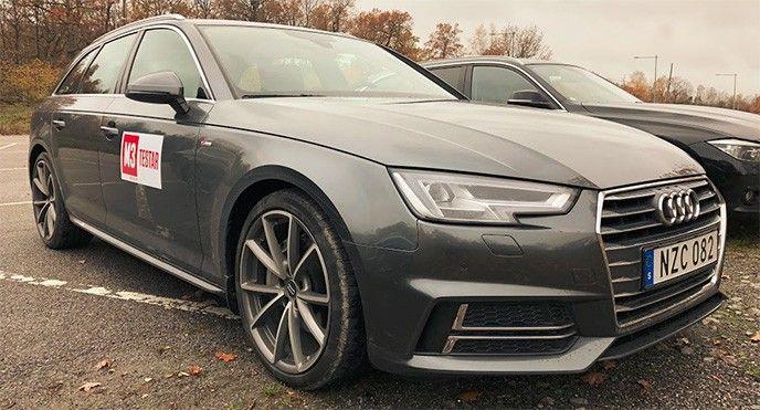 Tjänstebil Audi 7,5 basbelopp