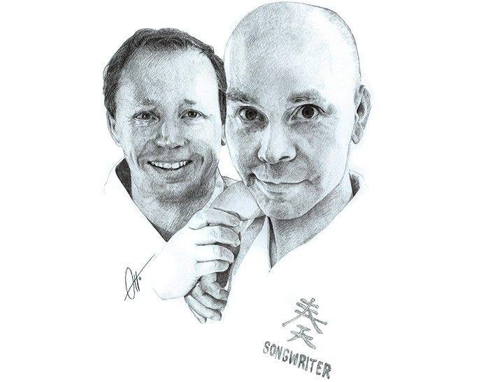 Johan Wåhlander och Jan Sparby