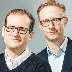 Patrik Lundholm och Johan Walldov