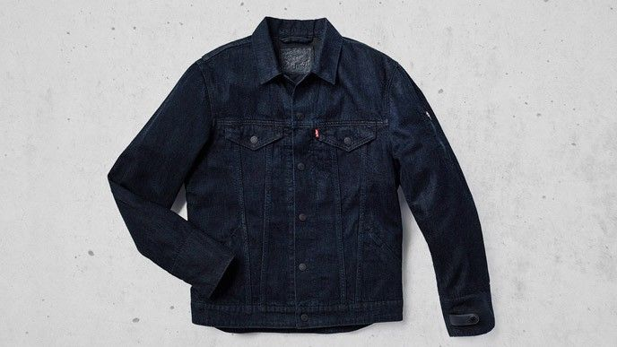 Levi's® Commuter Trucker Jacket with Jacquard™ by Google