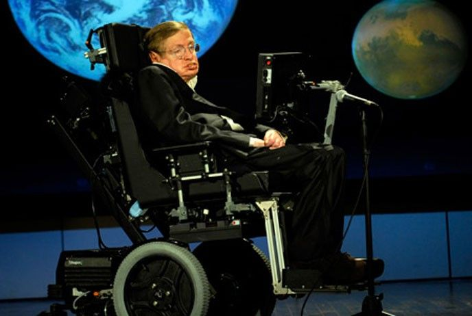 Fysikern Stephen Hawking