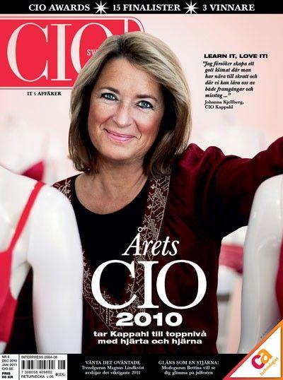 CIO Sweden 8/2010