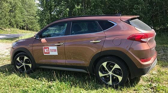 Bästa crossover-suv 2018 - Hyundai Tucson