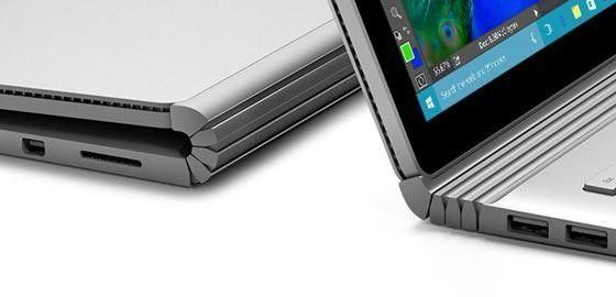 Microsoft Surface Book gångjärn