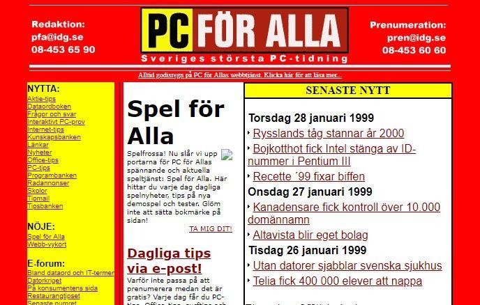 PC för Alla 1998