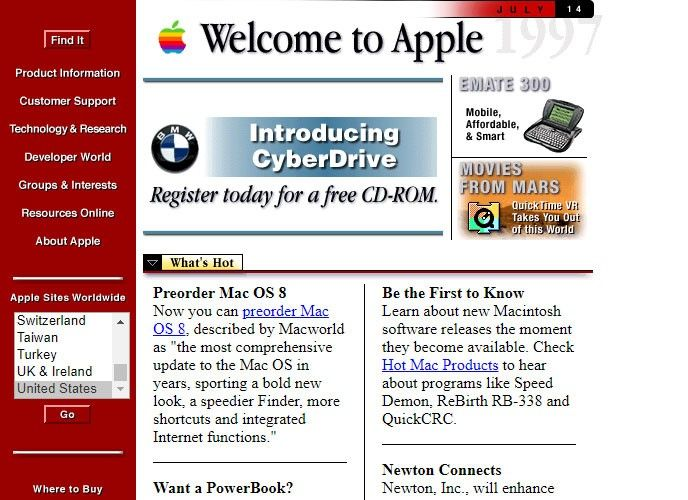 Apple 1997