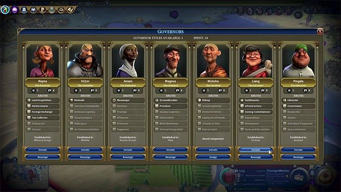 Civ 6 rise and fall gouverners