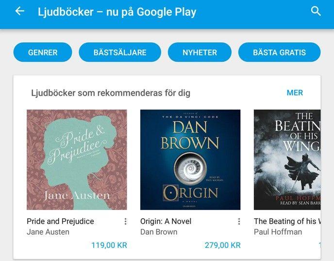 Bra ljudböcker gratis