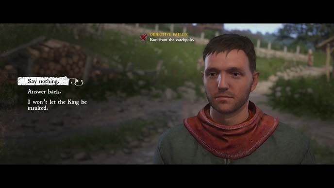 Kingdom Come Deliverance talk