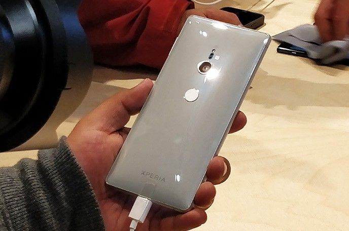 Sony Xperia XZ2 baksida