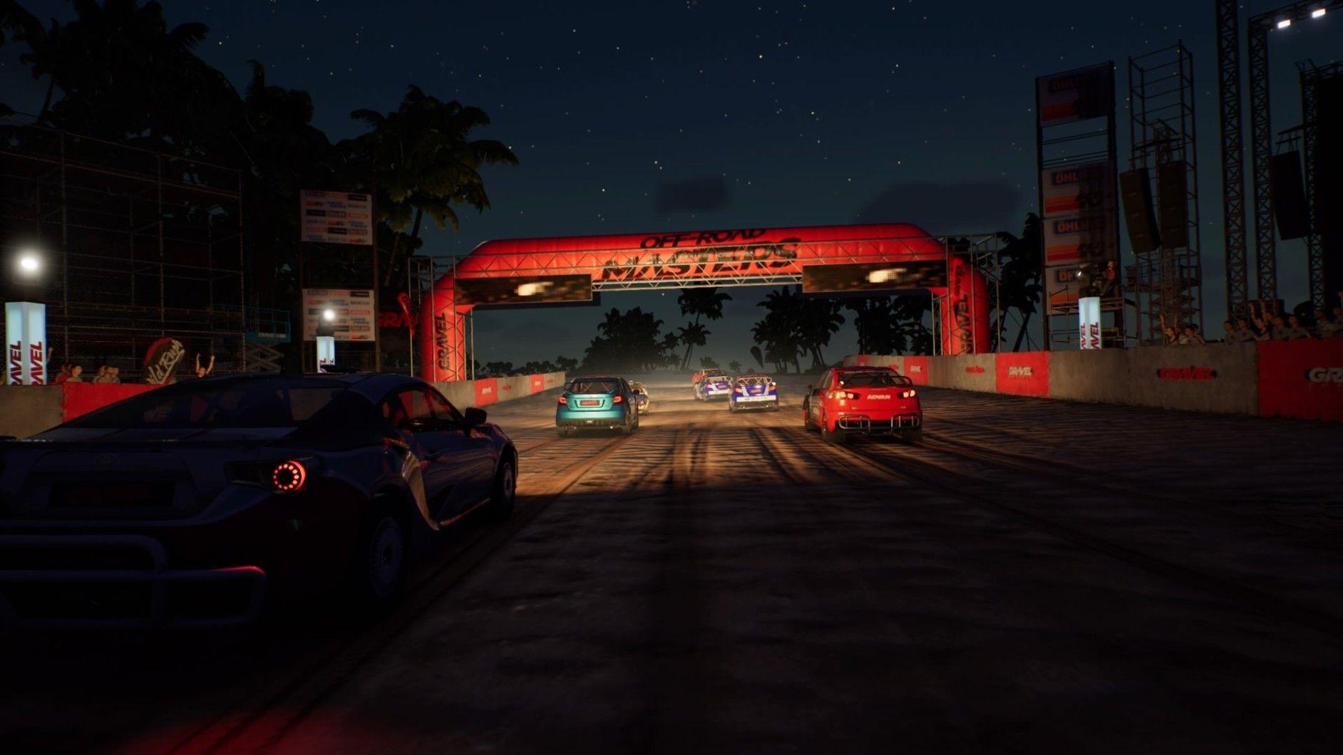 Gravel bilspel racing