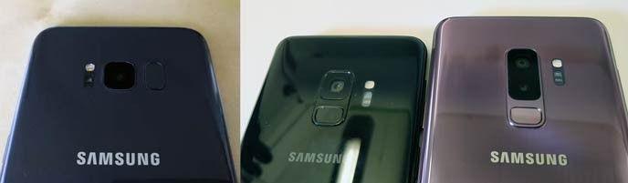 Galaxy S8 och galaxy S9