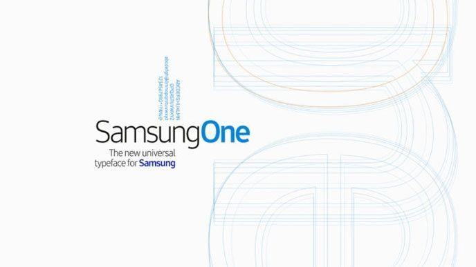 typsnitt Samsung
