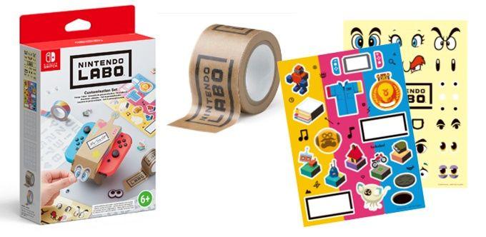 Nintendo Labo Customistion kit