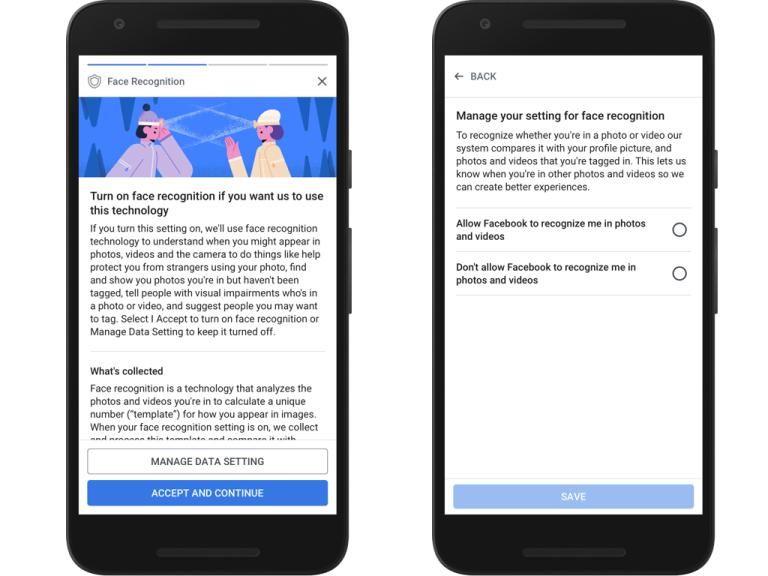 Facebook mobilapp