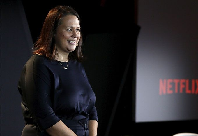 Kelly Luegenbiehl, vice marknadsansvarig över egenproducerat internationellt material på Netflix.